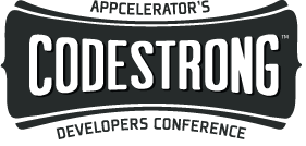 Logo of the CodeStrong conference